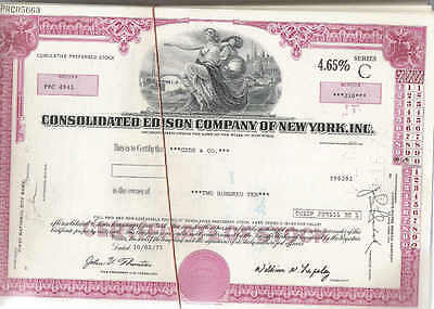 Consolidated Edison Co. of New York, Inc., 1960s, red