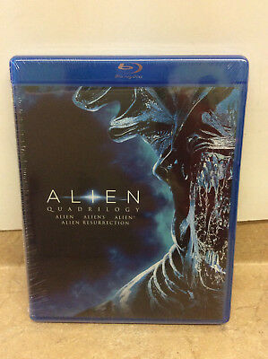 Alien Quadrilogy (Blu-ray Disc, 2014) Factory Sealed! NEW!
