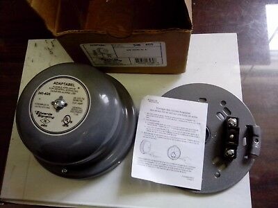 "NEW Edwards Signaling 340-4G5 4"" Vibrating Bell, Continuous Ringing, 24 VOLT"
