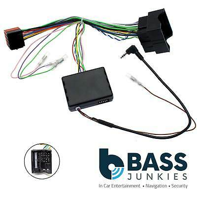 Ford Focus C-Max 2007 On Car Stereo Steering Wheel Interface & FREE PATCH LEAD