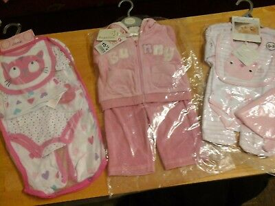Bundle of baby girls clothes  0-3 3-6 months  BNWT