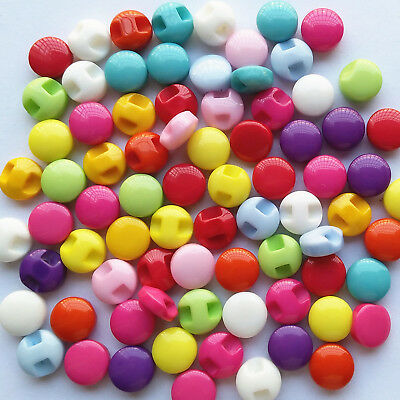 Assorted Colorful Resin Button Clothes Sewing Button  Diy Craft Embelishment