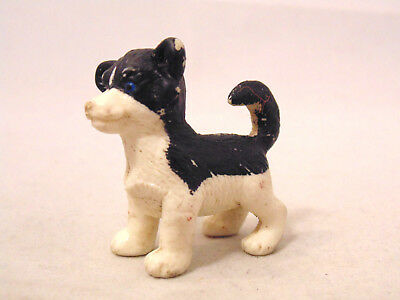 Puppy in My Pocket Dog Figure Siberian Husky Vintage 1995 M.E.G. Pretend Play