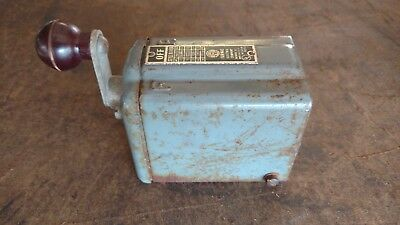 Vintage Furnace Forward Reverse On Off Switch Box R1143A 220/110 2 HP Max Lathe