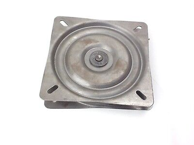 Full Ball Bearing Heavy Duty Swivel Plate 7 inch Wide Made In USA Trendler