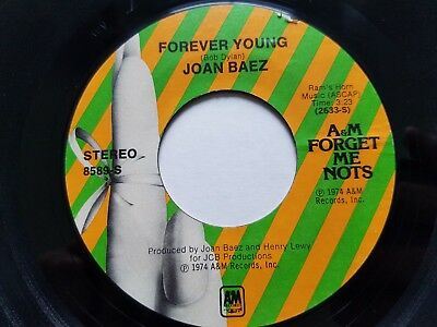 JOAN BAEZ - Forever Young / Diamonds and Rust 70's JAZZ POP Easy Listening Folk