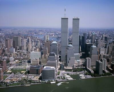 WORLD TRADE CENTER GLOSSY POSTER PICTURE BANNER 1 wtc twin towers new york 3265
