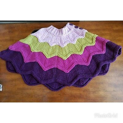Little Girl's (Toddler) The Children's Place Knit Poncho with Buttons Size:3t