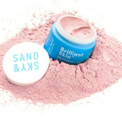 Sand And Sky Brilliant Skin Pink Clay Face Mask - Australian