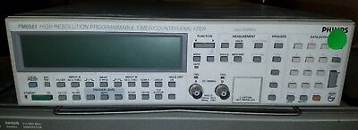 PM6681 High Res. Programmable Timer/Counter/Analyzer (Phillips)