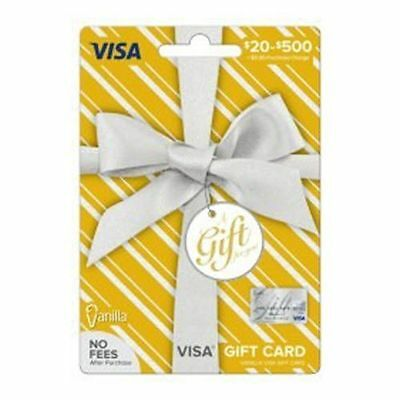 $300 NonReloadable VISA Card. Ready to use. No Fees. Free 1-3 day Fast Delivery!