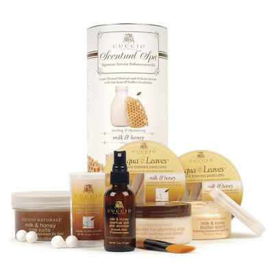 Cuccio Naturale - Scentual Spa Kit - Milk & Honey - GREAT HOLIDAY GIFTS