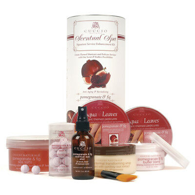Cuccio Naturale - Scentual Spa Kit - Pomegranate & Fig - GREAT HOLIDAY GIFTS