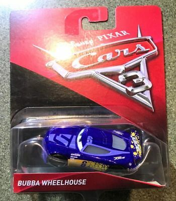 CARS 3 - BUBBA WHEELHOUSE racer TRANSBERRY JUICE TEAM -  Mattel Disney Pixar