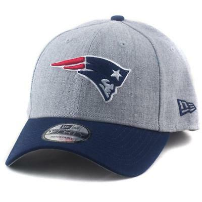 New England Patriots New Era NFL Team 9Forty Hat In Heather Grey Baseball Cap