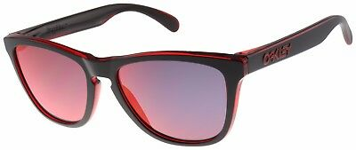Oakley Frogskins Sunglasses OO9013-A7 Red Eclipse Collection| Torch Iridium Lens