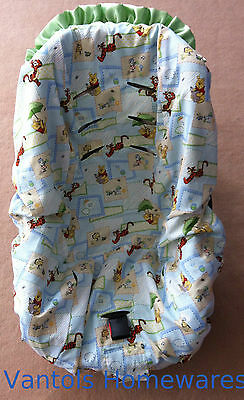 Winnie the Pooh Baby Toddler Car Seat Cover - Fits Convertible