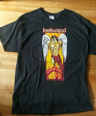 "Lamb of God t shirt XL ""As the Palaces Burn"" Authentic!"