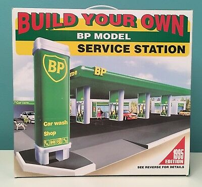 Build Your Own BP Model Service Station 1995 Edition Brand New in Box