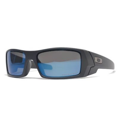 Oakley Gascan OO9014 26-244 Matte Black w/Ice Iridium Polarized  Sunglasses