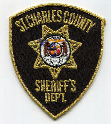 St. Charles County Missouri Sheriff's Dept Patch - FREE US SHIPPING!