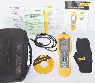 Fluke 805 High Precision Vibration Meter Analyzer analyser 10-20kHz *Calibrated*