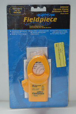 New in box - Fieldpiece ACH4 Current Clamp Head 400AAC - Accessory Head