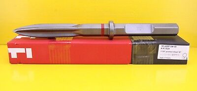 "Hilti TE-H28P SM 40 , 1 1/8"" Pointed chisel 16"" , TEH28PSM40 HEX28 - 417824"