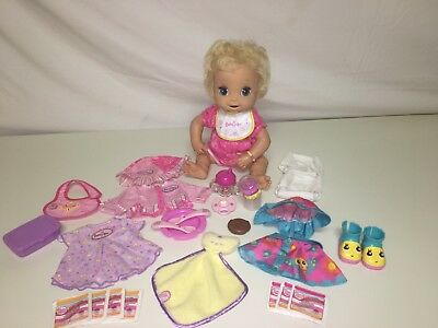 New Rare Hasbro Baby Alive 2006 Sippy Time Snack Set And