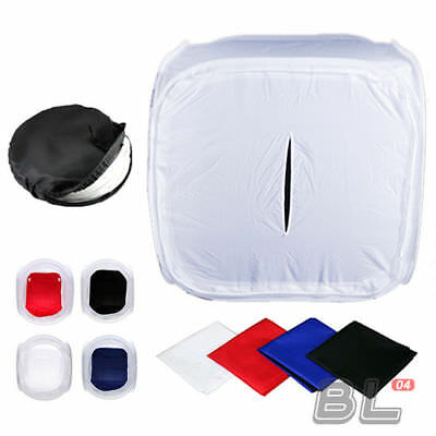 50cm Photography Light Tent Soft Lighting Box Photo Studio 4 Backdrop Tent Cube