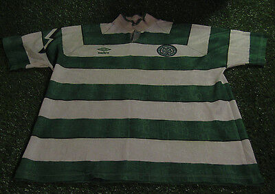 celtic sfl scotland football xl extra large mans vintage 1991 umbro home jersey