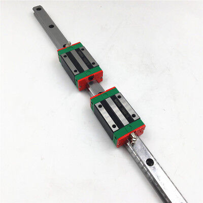 Linear Guide Rail MGNR9 L-350mm+L-450mm + 6Pcs Blocks MGN9H CNC Parts B