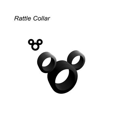 Rattle Collar Mickey Mouse Rattle Collars bass silicone skirt component S8832
