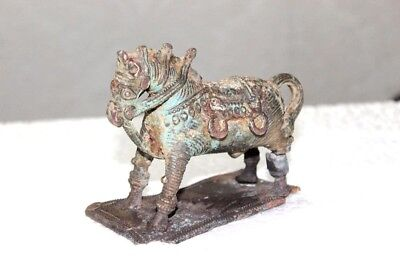 Old Vintage Antique Rare Brass Horse Statue Decorative PC-70 COLLECTIBLE EDH