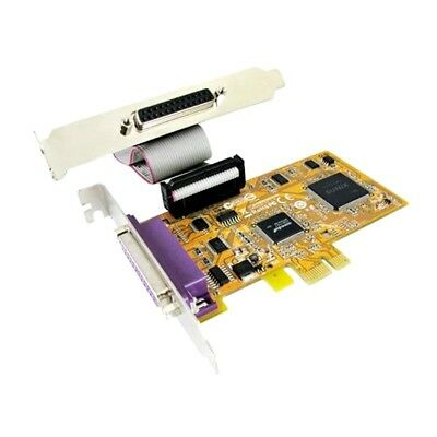 PCI Express 2-Port Parallel Low Profile Card