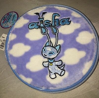 NEOPETS AISHA Blue Soft Velvety CD Holder Limited Too NWT