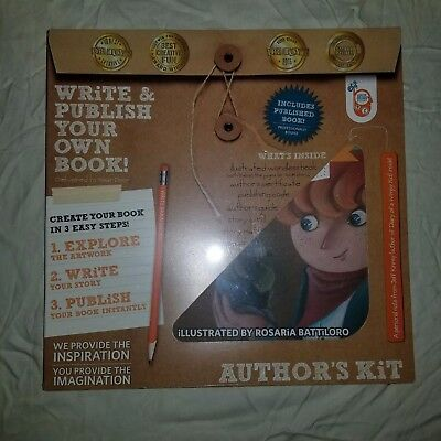Author' Kit Write and Publish Your Own Book For Kids Ages 5 - 105 by WRiTE BRAiN