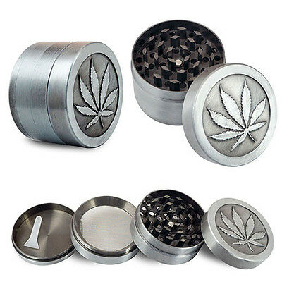 4 Layers Alloy Tobacco Crusher Hand Muller Leaf Smoke Herb Grinder Magic Hot