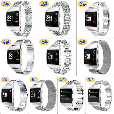 Stainless Steel Watch Band Metal Bracelet Strap Replacement for Fitbit Ionic New