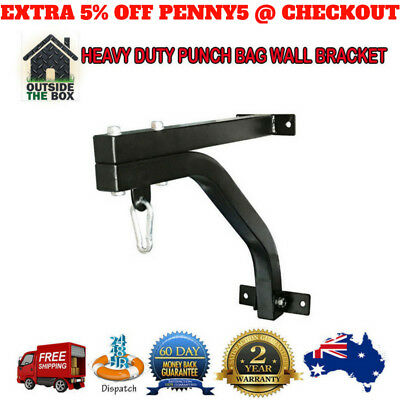 Heavy Duty Punch Bag & Speed Ball Wall Bracket Rack Home Gym Fitness Exercise