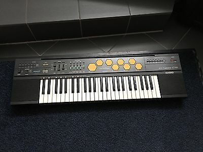 CASIO CASIOTONE CT-510 VINTGE 80s KEYBOARD SYNTHESIZER RARE very good condition!