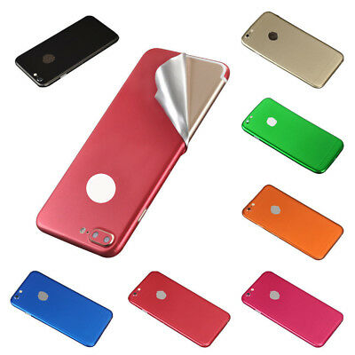 Luxury Film Wrap Decal Skin Case Sticker PVC Back Cover For iPhone 6 6s 7 8 Plus