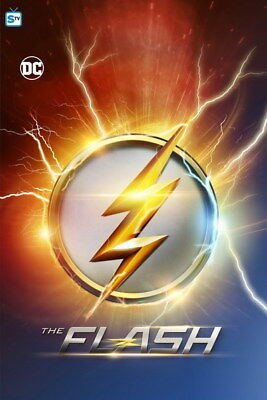 "087 The Flash - Justice League USA Hero Season 1 2 3 TV 24""x36"" Poster"
