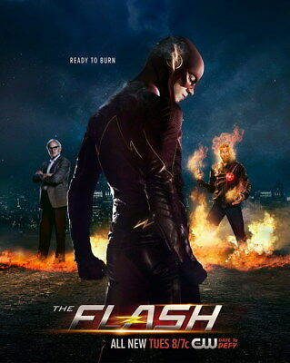 "094 The Flash - Justice League USA Hero Season 1 2 3 TV 24""x30"" Poster"