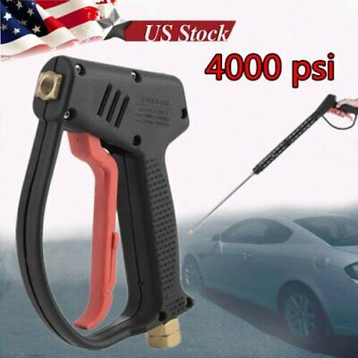 High Pressure Washer Gun Water Jet 4000 PSI 7 gpm for Pressure Power Washers MA