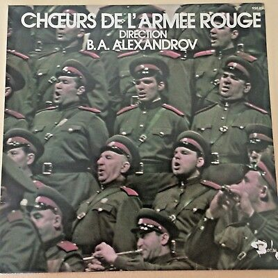 FOLK LP - CHOIR OF THE RED ARMY - BARCLAY France 950036 M- 12'' Original 196?