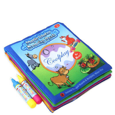 Drawing Water Pen Painting Magic Doodle Aquadoodle Mat Board Kids Toy Xmas Gift
