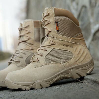 Military Tactical Boots Desert Combat Outdoor Army Hiking Travel Botas Shoes New