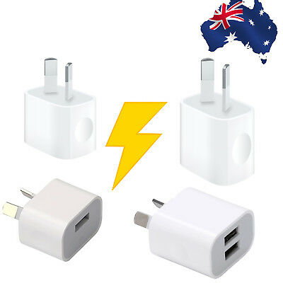 Universal Fast Safe 5V 2A Dual USB Wall Charger Power Adapter For Apple Samsung