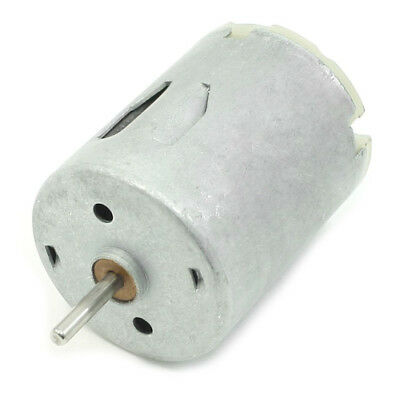 DC 9V 20000RPM Rotary Speed Cylinder Shape Magnetic Motor, Silver Gray PK R9C6